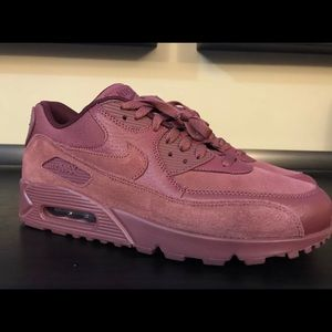 Nike Air Max vintage fine wine men's size 10 NEW NWT